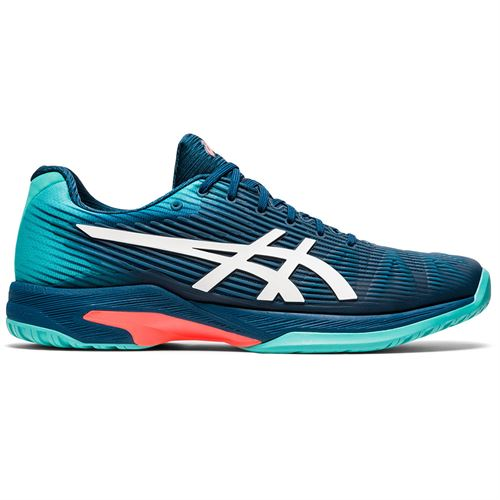 Asics Solution Speed FF Mens Tennis Shoe Mako Blue/White 1041A003 407