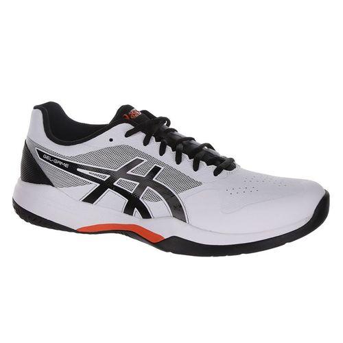 Asics Gel Game 7 Mens Tennis Shoe - White/Black