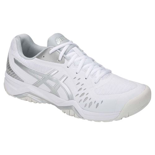 Asics Gel Challenger 12 Mens Tennis Shoe - White/Silver