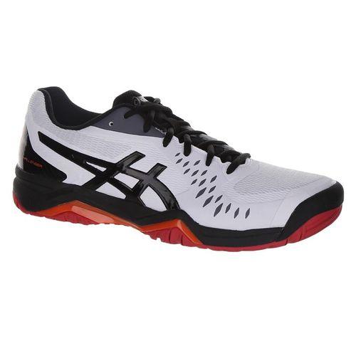 Asics Gel Challenger 12 Mens Tennis Shoe - White/Black