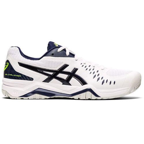 Asics Gel Challenger 12 Mens Tennis Shoe White/Peacoat 1041A045 116