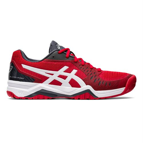Asics Gel Challenger 12 Mens Tennis Shoe Red/Silver 1041A045 603