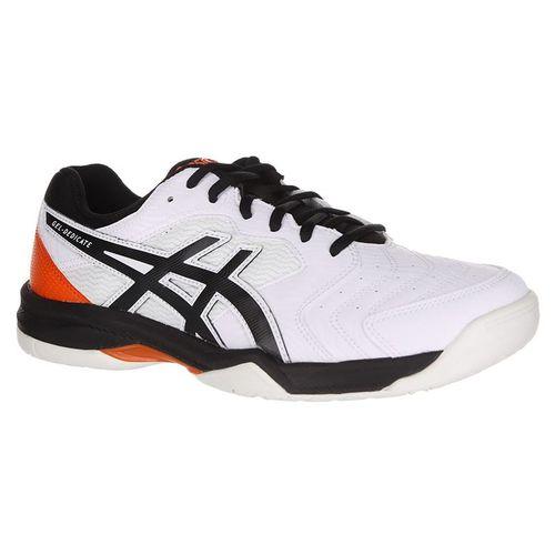 timeless design 83f56 9f343 Asics Gel Dedicate 6 Mens Tennis Shoe - White Black