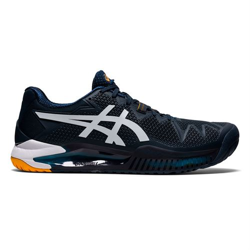 Asics Gel Resolution 8 Mens Tennis Shoe French Blue/White 1041A079 403
