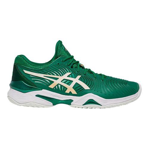 Asics Court FF Novak Mens Tennis Shoe Green/White 1041A089 301