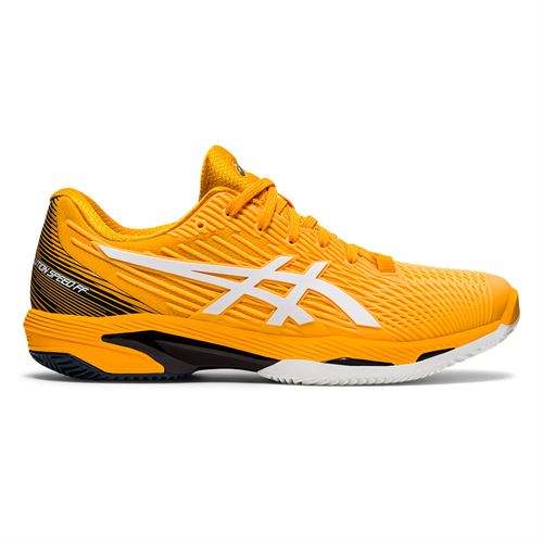 Asics Solution Speed FF 2 Clay Mens Tennis Shoe Amber/White 1041A187 800