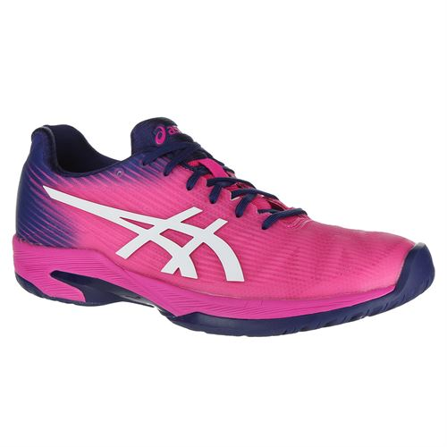 Asics Solution Speed FF Womens Tennis Shoe - Pink Glo/White