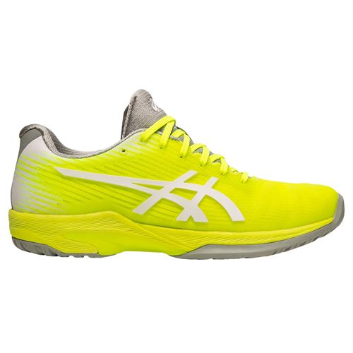 Asics Solution Speed FF Womens Tennis Shoe - Safety Yellow/White
