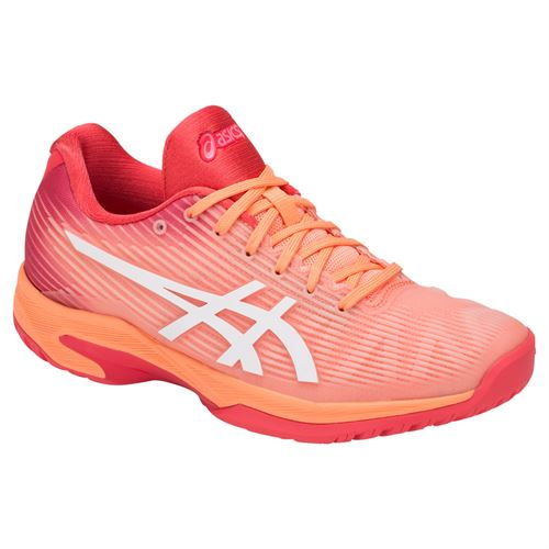 Asics Solution Speed FF Womens Tennis Shoe - Mojave/White