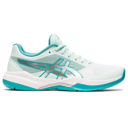 Asics Gel Game 7 Womens Tennis Shoe Bio Mint/Pure Silver 1042A036 301