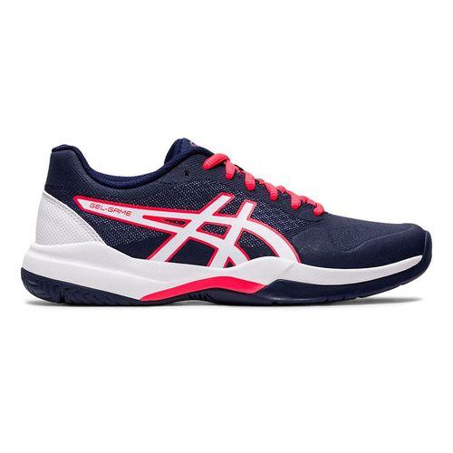 Asics Gel Game 7 Womens Tennis Shoe Peacoat/White 1042A036 405