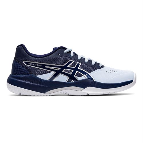 Asics Gel Game 7 Womens Tennis Shoe Soft Sky/Peacoat 1042A036 406