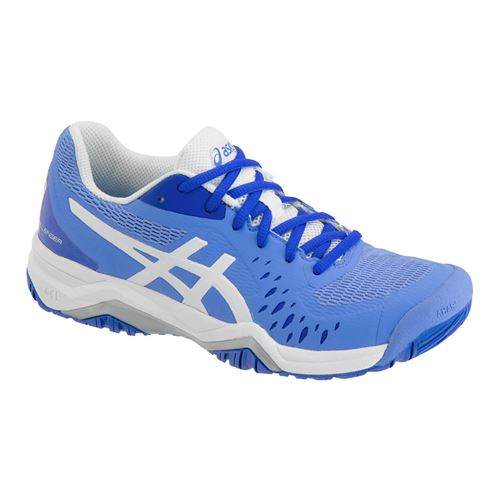 Asics Gel Challenger 12 Womens Tennis Shoe - Blue Coast/White