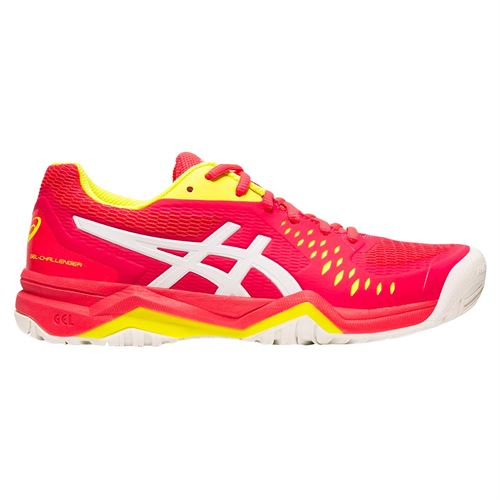 Asics Gel Challenger 12 Womens Tennis Shoe - Laser Pink/White