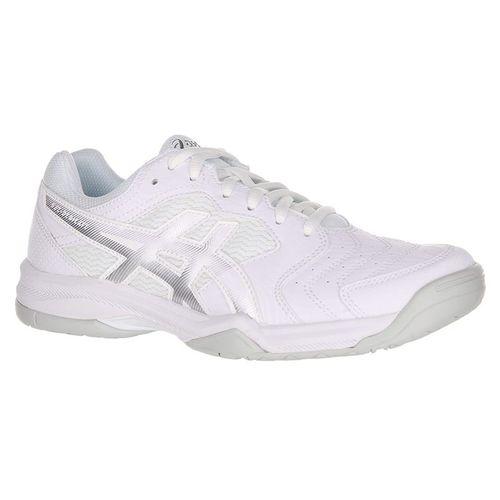 4321a1da9787 Asics Gel Dedicate 6 Womens Tennis Shoe - White/Silver
