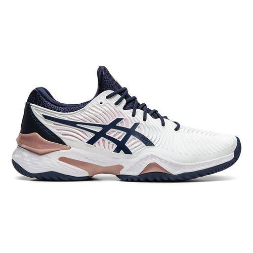 Asics Court FF 2 Womens Tennis Shoe White/Peacoat 1042A076 102