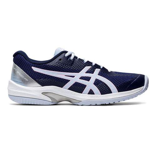 Asics Court Speed FF Womens Tennis Shoe Peacoat/Soft Sky 1042A080 401