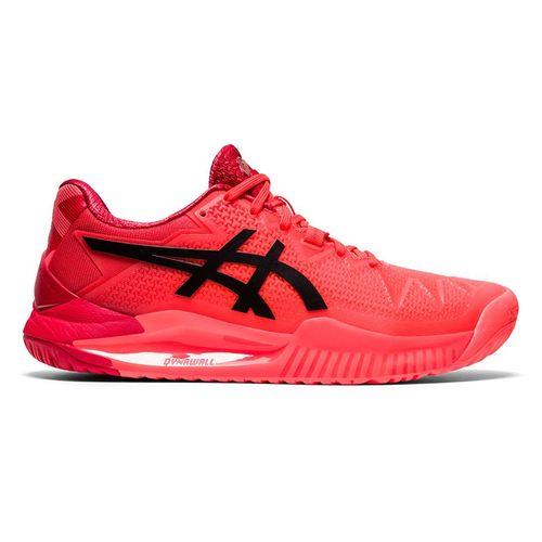 Asics Gel Resolution 8 Womens Tennis Shoe Tokyo Sunrise Red/Eclipse Black 1042A131 701