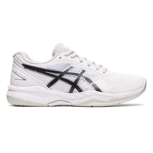 Asics Gel Game 8 Womens Tennis Shoe White/Black 1042A152 101