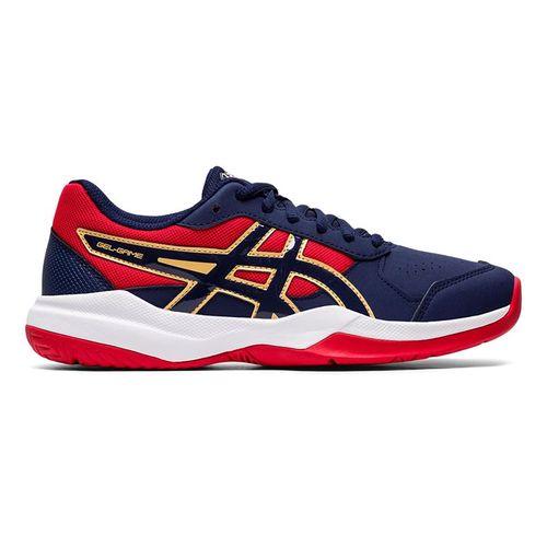 Asics Junior Gel Game 7 GS Tennis Shoe Peacoat 1044A008 400