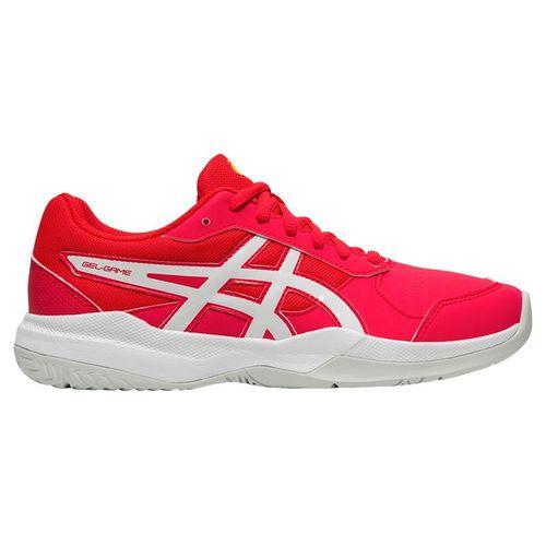 Asics Gel Game 7 GS Junior Tennis Shoe - Laser Pink/White