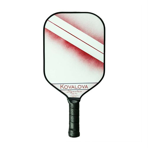 Engage Elite Pro Pickleball Paddle - White/Maroon Fade