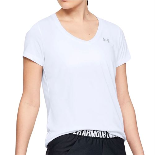 Under Armour Tech Short Sleeve Top - White