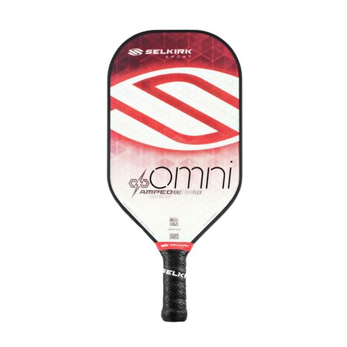 Selkirk Amped Omni Lightweight Pickleball Paddle - Ruby Red