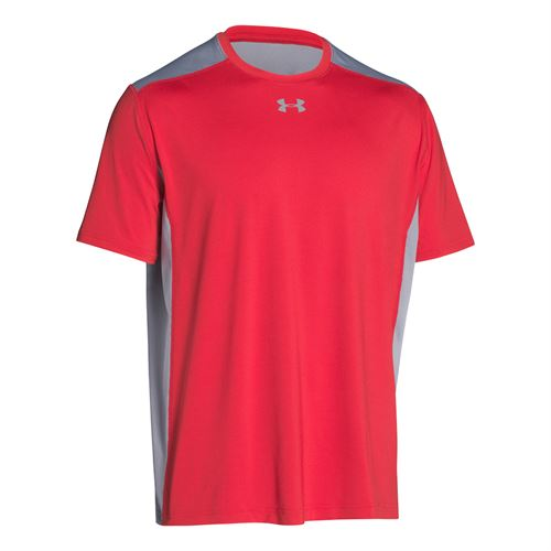 Under Armour Raid Colorblock Tee - Red