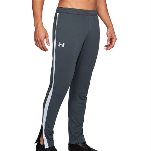 Under Armour Sportstyle Pique Track Pant Mens Stealth Gray/Black/White 1313201 008
