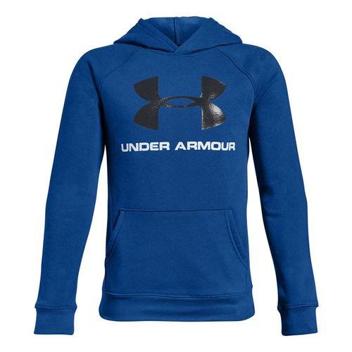 Under Armour Boys Rival Logo Hoodie - Royal/Black