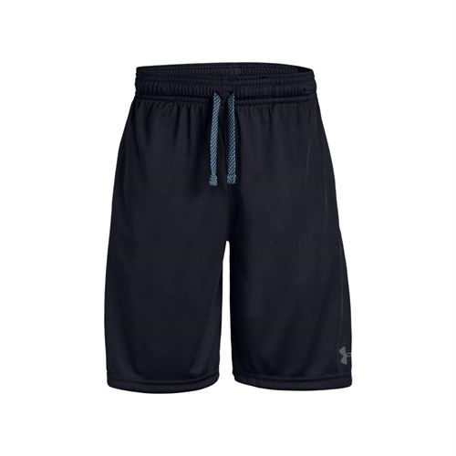 Under Armour Boys Prototype Wordmark Short - Black/Pitch Gray