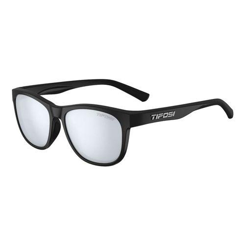 Tifosi Swank Sunglasses - Satin Black/Smoke Bright Blue