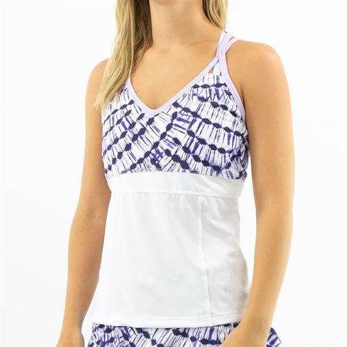Jerdog Monaco Breeze Strappi Cami Womens White/Rose