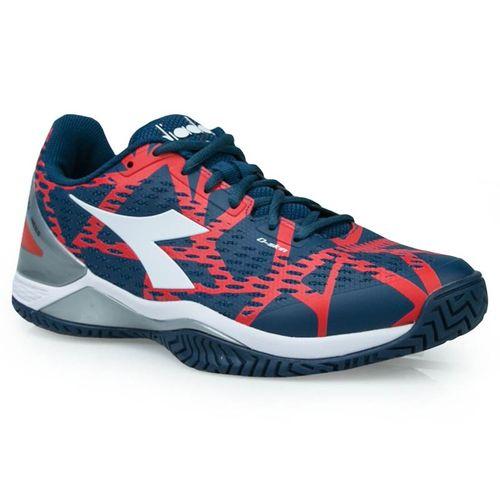 5df72217646d Diadora Speed Blushield 2 Mens Tennis Shoe - Dark Blue Red Capital