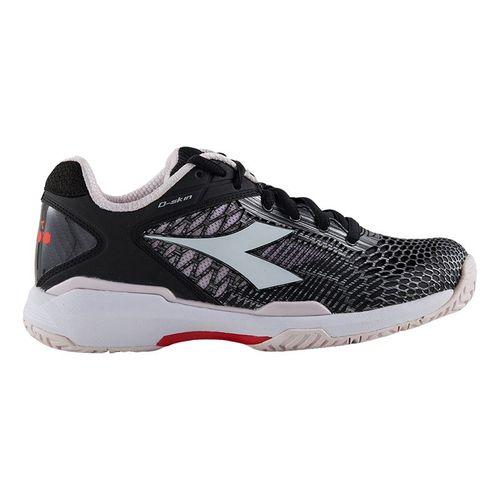 Diadora Speed Competition 5 Womens Tennis Shoe Black/Violet 175574 C8366