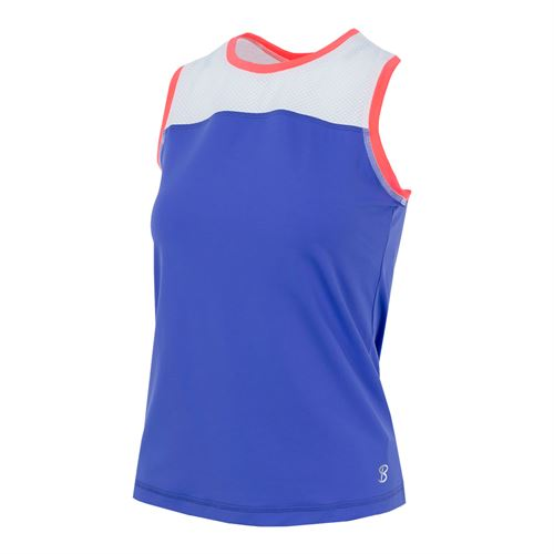 Sofibella Montreal Practice Sleeveless Top - Valley Blue
