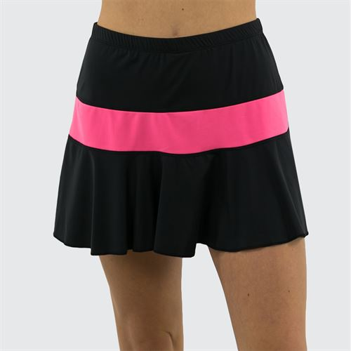 Jerdog Windstar Marrowed Skirt Womens Black/Pink Coral 18003 W2