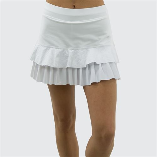 d87c60e56 Sofibella Athena Skirt, 1819 WHT | Women's Tennis Apparel