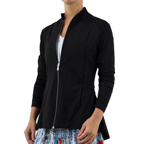 Sofibella Ravello Pleated Jacket Womens Black 1860 BLK