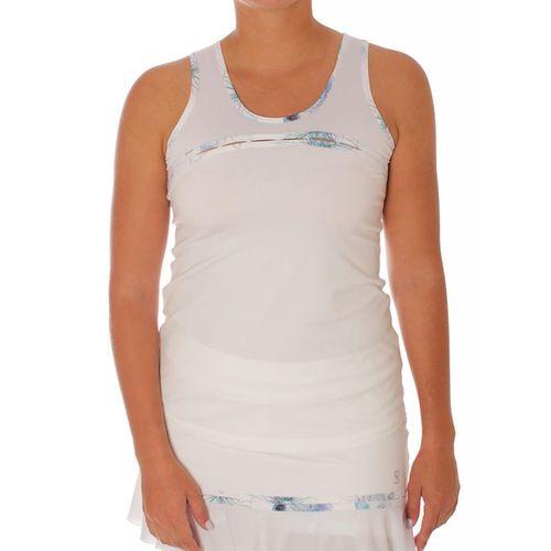 Sofibella Harmonia Chain Tank - White