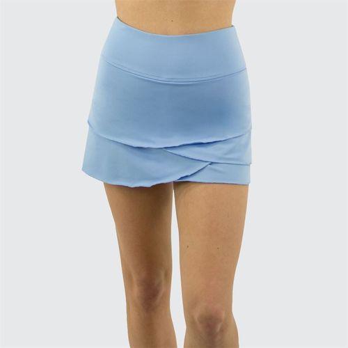 Jerdog Textured Garden Pace Skirt Womens Icy Blue 19088 TG1