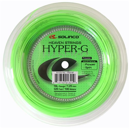 Solinco Hyper G 16L (328 FT.) Mini Reel