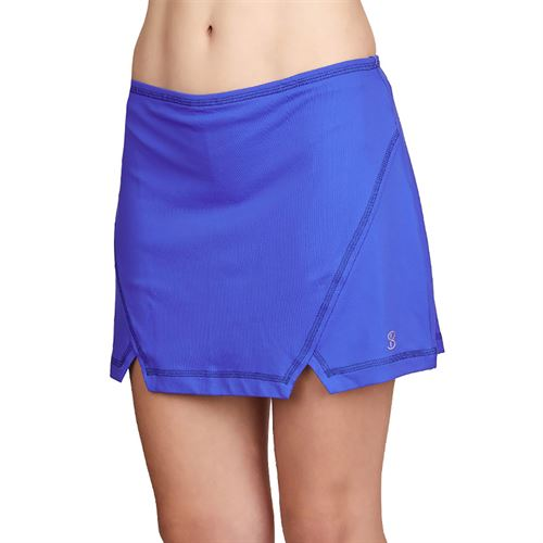 Sofibella Dreamscape 15 inch Skirt Plus Size Womens Royal Waters 1948 RWSP
