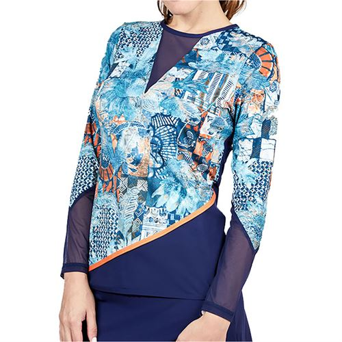 Sofibella Tempo Long Sleeve Top Plus Size Womens Tempo 1964 TMPP