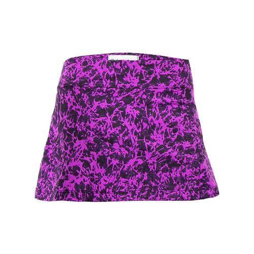 Jerdog Orchid Dream Back Pleat Skirt - Orchid/Eggplant