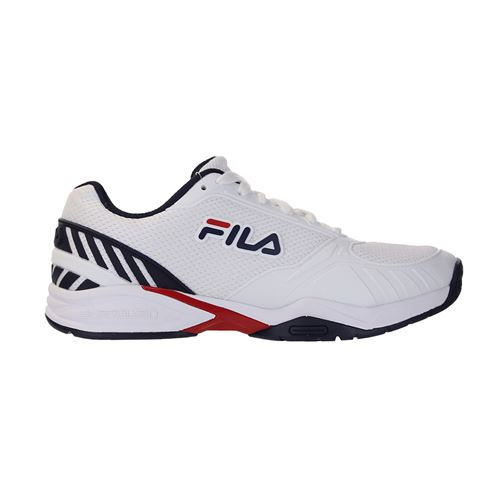 Fila Volley Zone Mens Pickleball Shoe - White/Navy