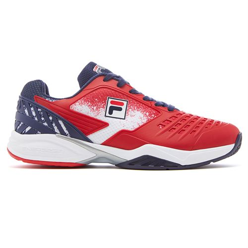 Fila Axilus 2 Energized Mens Tennis Shoe - Red/Navy