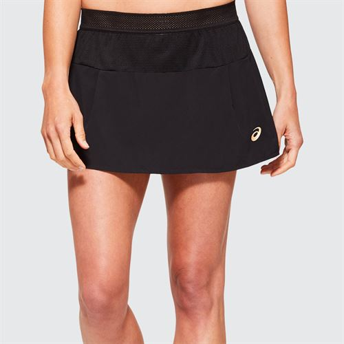 Asics Elite Tennis Skirt Womens Performance Black 2042A095 001