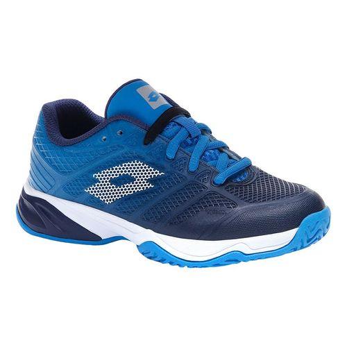 Lotto Mirage 300 II ALR Junior Tennis Shoe Navy/White/Blue 213638 5YC